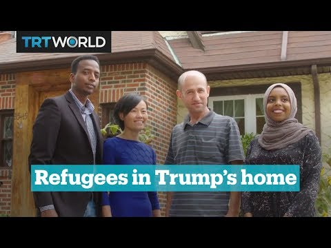 Donald Trump's childhood home hosts refugees