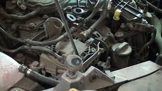 Ford Kuga снятие топливного фильтра
