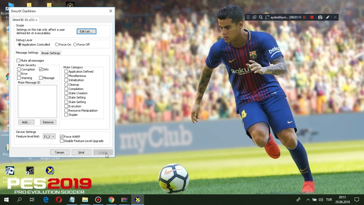 PES 2019 VRAM FIX FOR ALL GRAPHIC CARDS