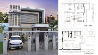 Video SketchUp Modern Home Plan 9x9m download MP3, 3GP, MP4, WEBM, AVI, FLV Desember 2017