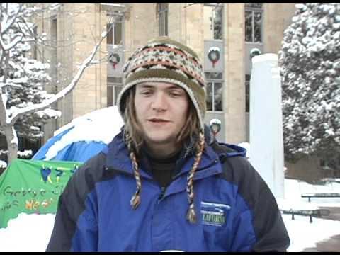 Ian Murdoch Occupy Boulder