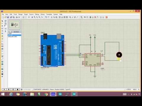 Controlar velocidad y giro de motor Labview