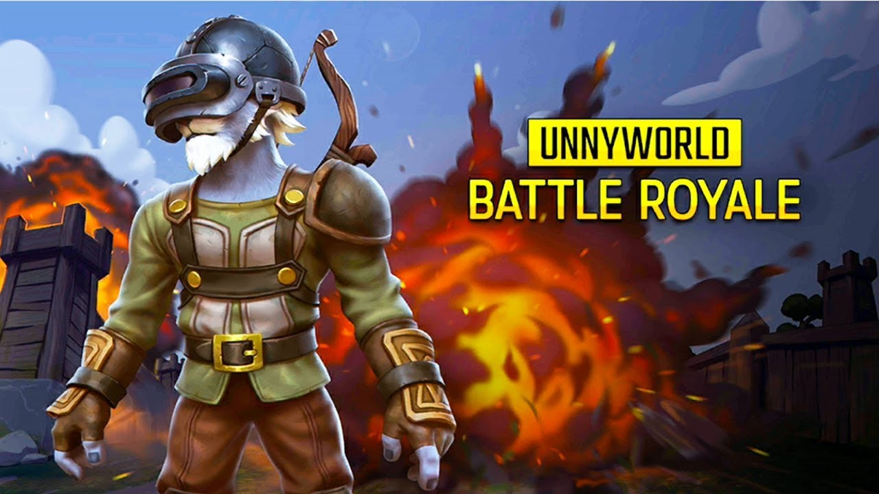 UnnyWorld - Battle Royale Android Gameplay ( 3vs3 Arena Battles)