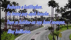 Paglaum - Sharon Magdayao (Vina Morales) slide video with lyrics on screen.