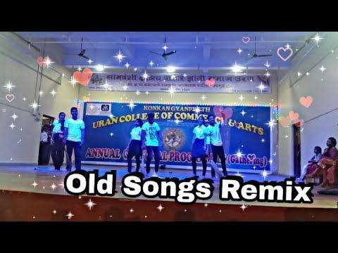 K.D.S. college,Uran| Gathering dance 2018-19 | Old songs remix