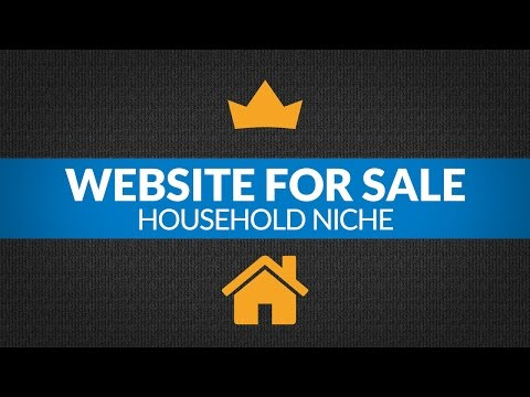 Website For Sale – $3.5K/Month in Household Niche, Amazon Affiliate Passive Income Site