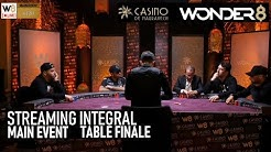 La Table Finale du WONDER8 Marrakech 2019 - Streaming intégral