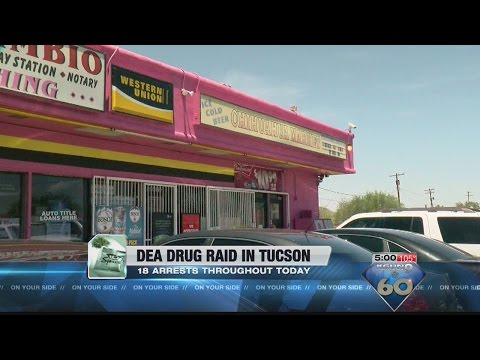 War on drugs hits homes, businesses around Tucson