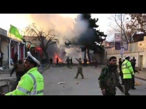 Massive Kabul suicide car bomb kills at least 80