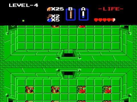 "[TAS] NES The Legend of Zelda ""2nd quest"" by Baxter & Morrison in 24:59.83"