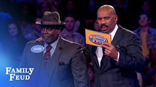 Last answer! Shawn needs 13 points for $20,000! | Family Feud