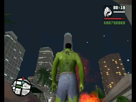 GTA Hulk vs King Kong