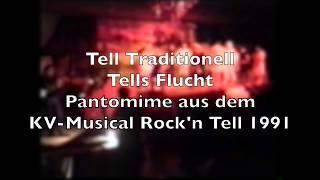 Tells Flucht aus Tell Traditionell. Musik: Hanspeter Reimann