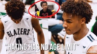 This Kid THREW A Orange Peel At Bronny James Because Of This.... 🍊