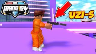 🔫 *NEW WAFFE* IN MAD CITY ROBLOX