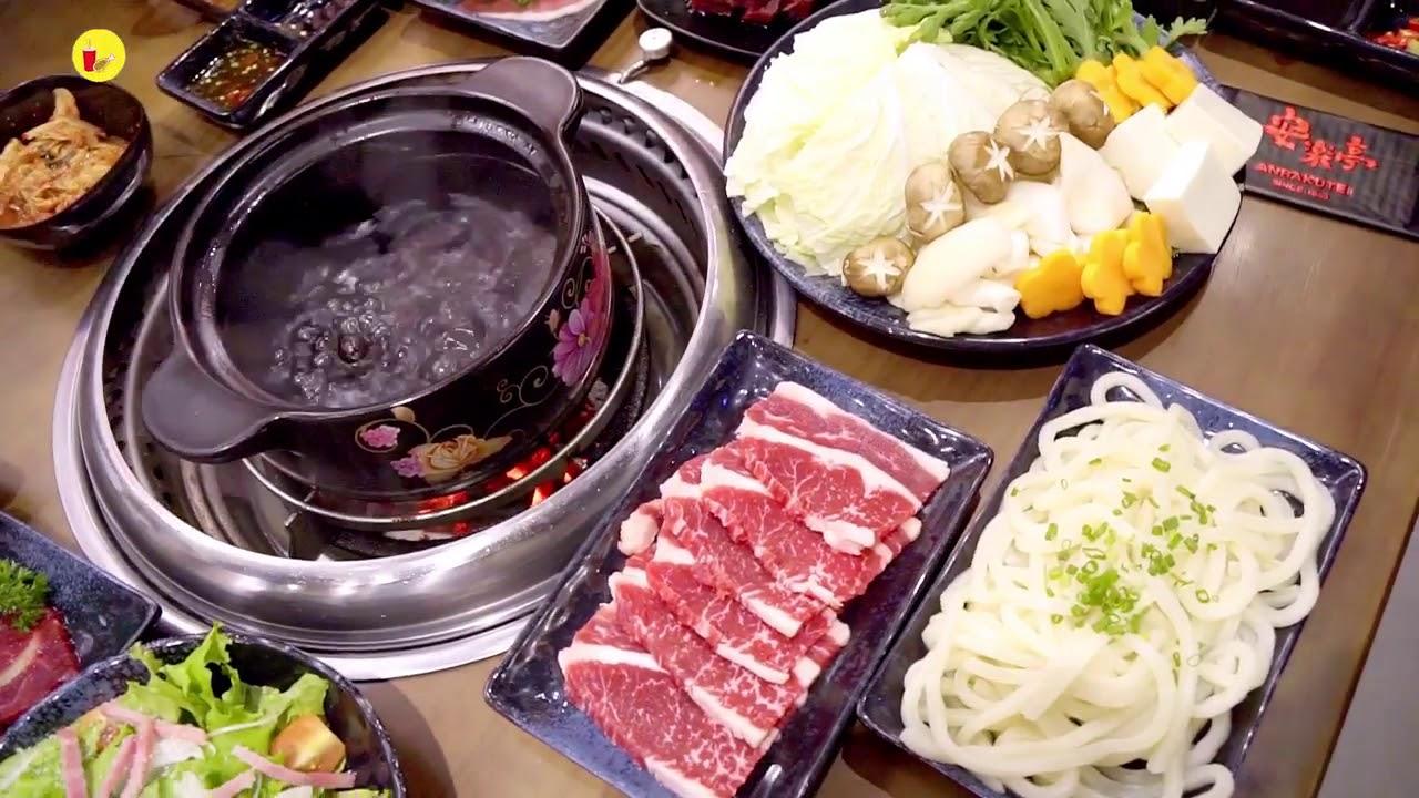Quay giới thiệu nhà hàng thịt nướng lẩu Anrakutei Việt Nam