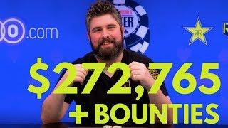 Ryan Leng Wins the WSOP $1500 Bounty NLHE After a Grueling Heads Up Battle