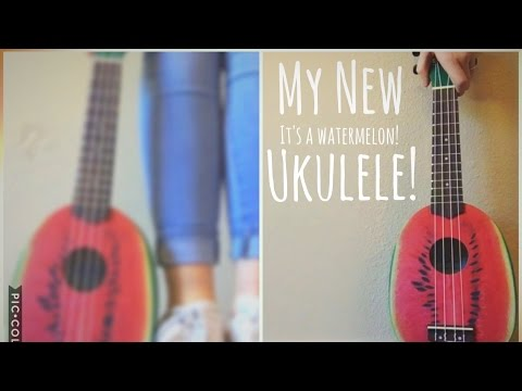 Unboxing My New Watermelon Ukulele!