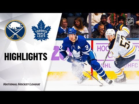 NHL Highlights | Sabres @ Maple Leafs 11/30/19