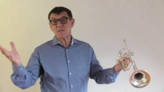 Hohe Töne auf der Trompete - Übung mit Trompetenlehrer Helmut Dold