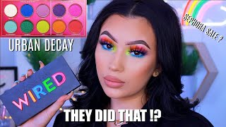 URBAN DECAY WIRED PALETTE   REVIEW & TUTORIAL