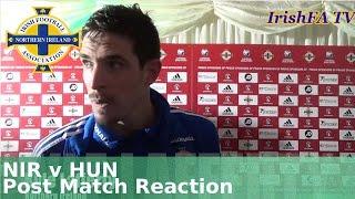 Northern Ireland v Hungary post match reaction