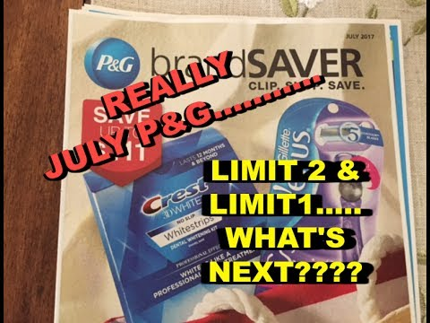 JULY P&G.....WHAT'S GOING ON?????  😭😭😭