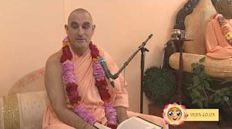 Шримад Бхагаватам 1.8.32 - Бхакти Видья Пурна Свами