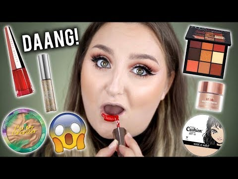 DANG!! | FULL FACE FIRST IMPRESSIONS TESTING NEW MAKEUP | DRUGSTORE & HIGH END