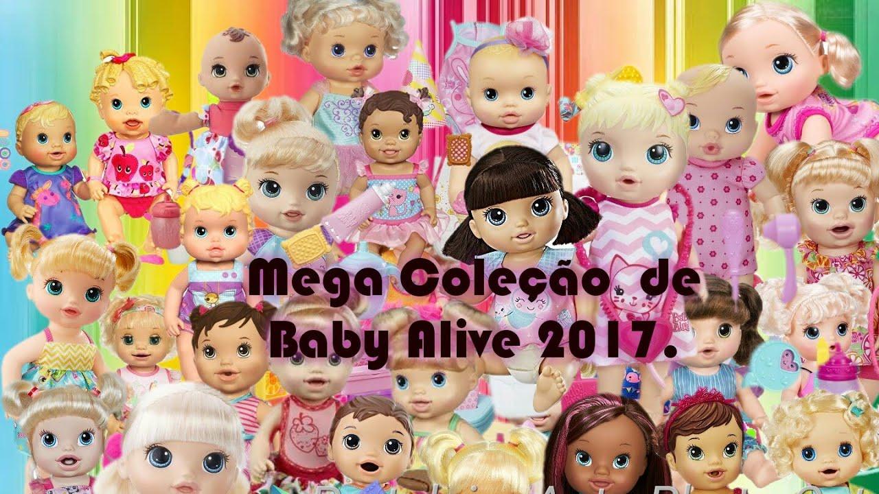 90e43def44 Mega coleção de Baby Alive 2017 atualizado - YouTube