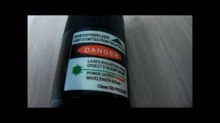 Мощный Лазер поджигает спички