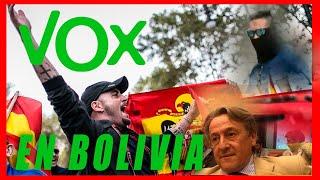 🔴 EL PARTIDO DE ULTRADERECHA ESPAÑOL VOX llegaron a BOLIVIA por la CRISIS DIPLOMÁTICA 🔥