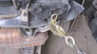 Porsche Boxter. Body repair. Ремонт кузова.
