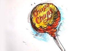 How to draw a Chupa Chups / American Pie