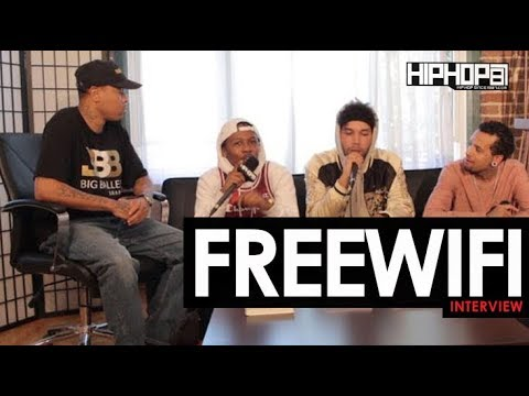 "FREEWIFI Talk Minneapolis' Music Scene, New Record ""Ghost"", Their Starting 5 & More with HHS1987"