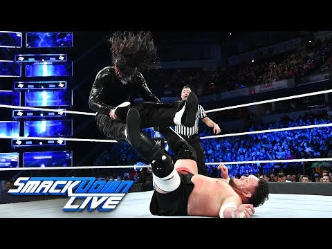 Jeff Hardy vs. Samoa Joe - WWE World Cup Qualifying Match: SmackDown LIVE, Oct. 9, 2018