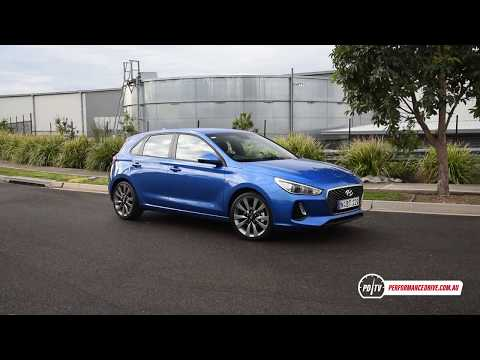 2018 Hyundai i30 SR 1.6T manual 0 100km h engine sound short edit