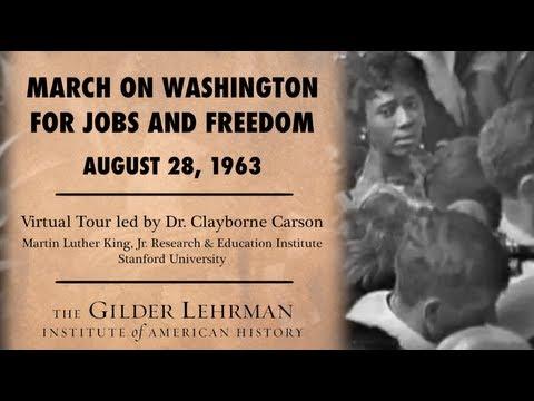 The March on Washington: A Virtual Tour