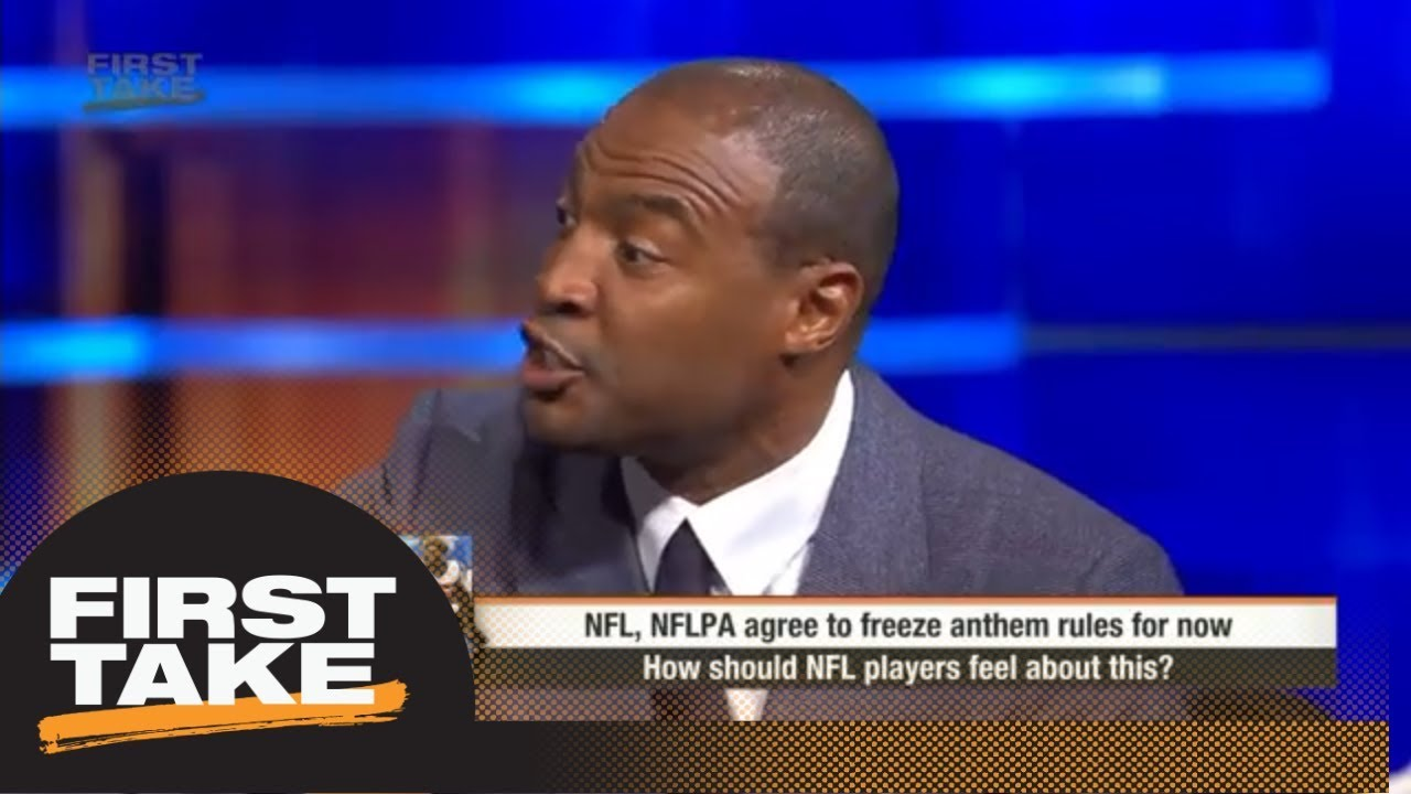 Confusion among players as NFL freezes anthem rule | First Take | ESPN
