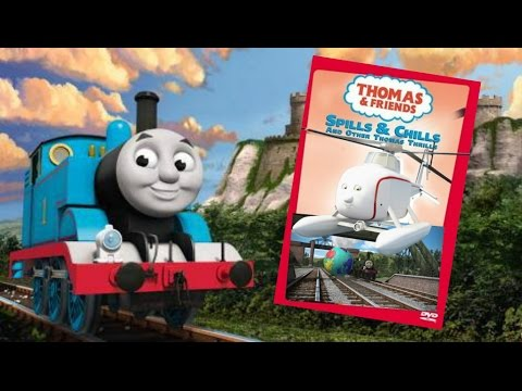 Spills & Chills and Other Thomas Thrills (CGI Version) | Custom DVD