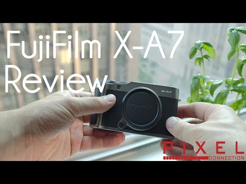 FUJIFILM X-A7 Mirrorless Digital Camera Hands-On Review