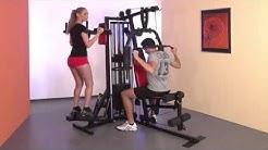 Тренировка с фитнес уредите на Christopeit Sport