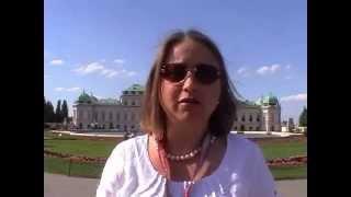 Русский гид по Вене Оксана Гаврилова, дворец Бельведер, Schloss Belvedere(, 2015-07-16T13:16:46.000Z)