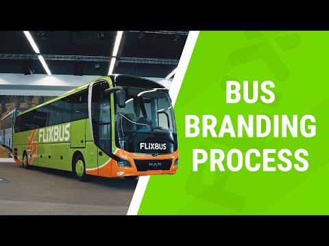 FlixBus Branding with Orafol material