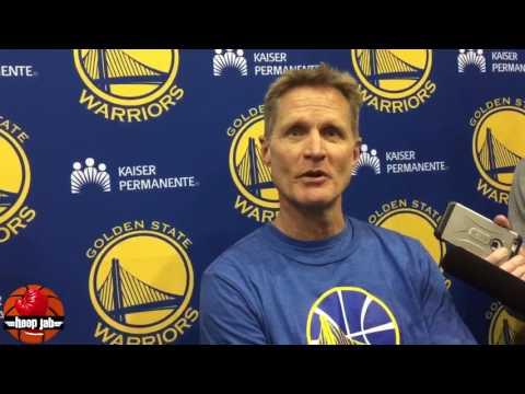 Steve Kerr On The Shaq JaVale McGee Spat Over Shaqtin A Fool. HoopJab NBA