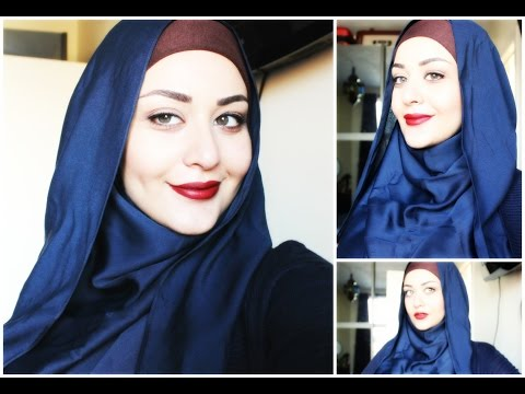 Tutoriel Hijab avec lunettes - Hijab with glasses Tutorial | FunnyCat ...