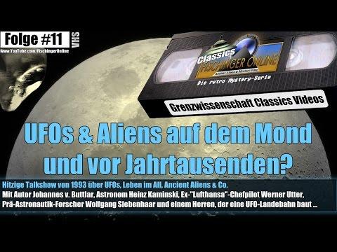 Grenzwissenschaft CLASSICS #11: UFO-Alarm bei Lufthansa, NASA und vor Jahrtausenden! TV-Talkshow '93
