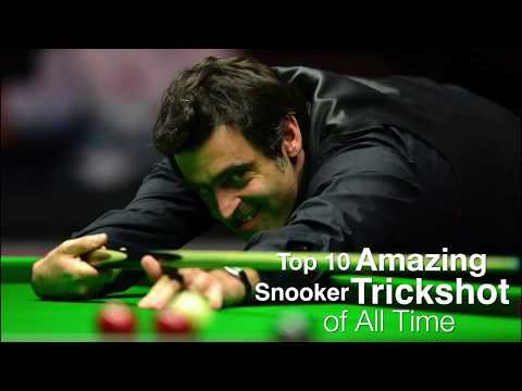 Top 10 best trick shots of snooker of all times