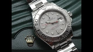 Rolex Yachtmaster 16622 40MM Watch - 2 minute Review