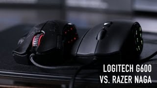 Logitech G600 VS. Razer Naga - MMO Mouse Face-off